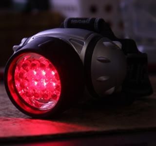 天体用LEDヘッドランプ