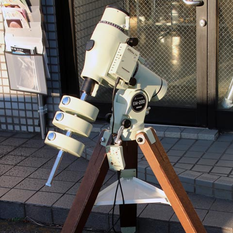 タカハシEM200Temma2M赤道儀