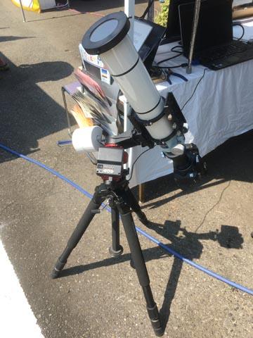 SkyGuiderPro太陽観望