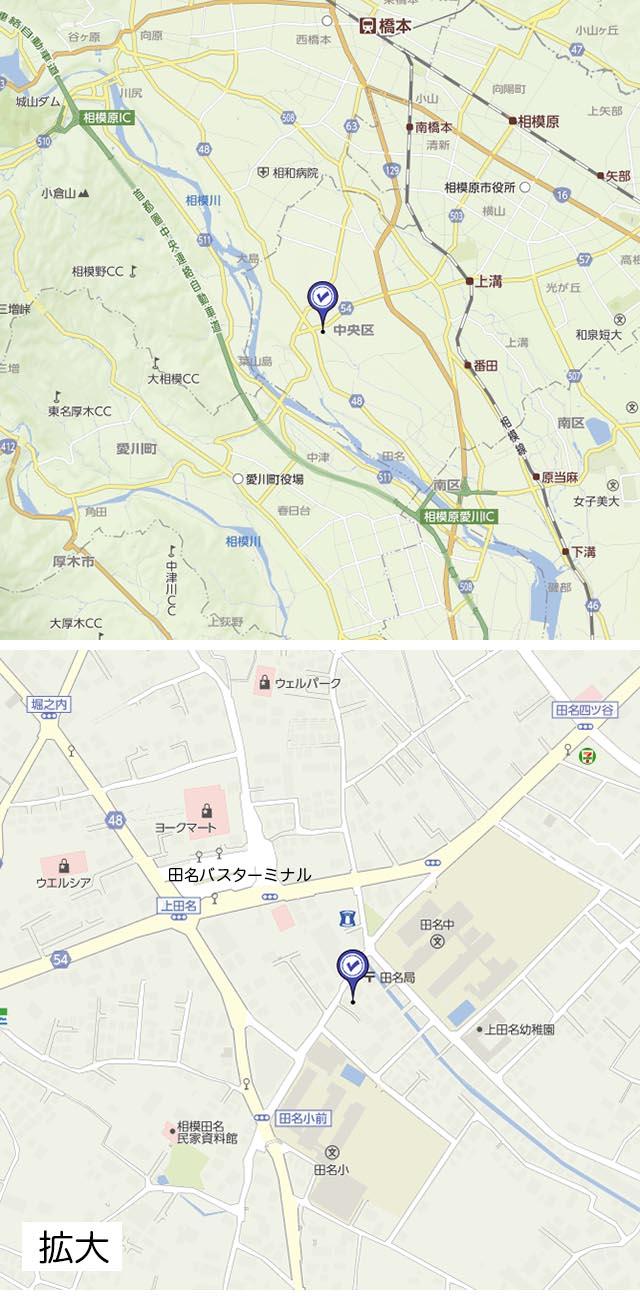 三基光学館Map